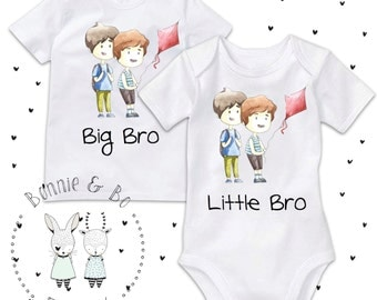 Big Brother Little Brother, Big Brother Shirt, Little Brother shirt, Family shirts, siblings, new brothers, newborn gift, baby shower gift