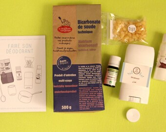 Kit do-it-yourself organic deodorant