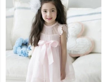 Pearl Gauze Lace Tutu Dress