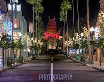 Hollywood Studios Great Movie Ride Canvas Print