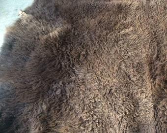 Full Bison hide