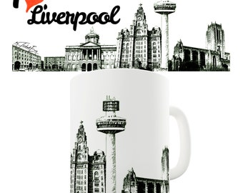 I Love Liverpool Ceramic Mug