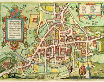 Cantebrigia, opulentissimi Angliae Regni vrbs celeberrimi nominis, ab Academiae conditore Cantabro, cognominata 1575