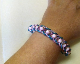Pinks & Blues Bracelet