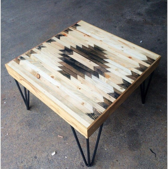 Square Coffee Tables Pallet Wood Tables Modern Coffee