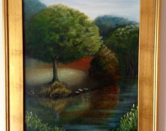 Original nature oil painting