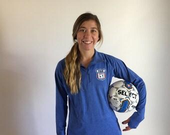 3/4 Zip Pullover US Deaf Soccer Team Jacket