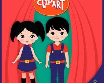 ClipArt, Earth to Luna, ClipArt o Show da Luna,