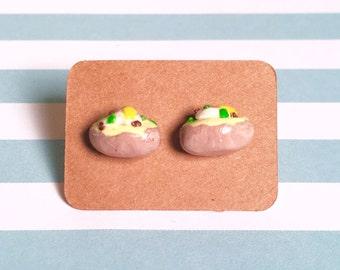 Baked Potato Earrings!