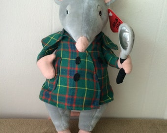"""Sugar Loaf Inspector Mouse, vintage 1995, new  13"""" tall"""