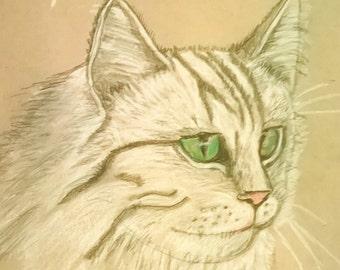Graphite pet portrait custom