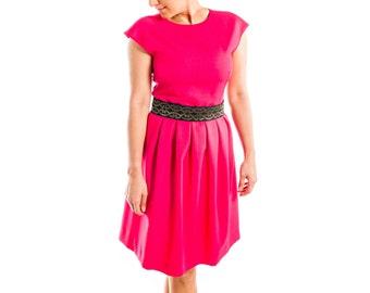 Ruby Dress (with belt) - 15-044
