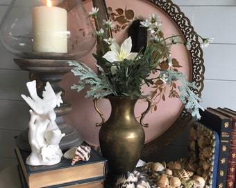 Brass Vase with Handles