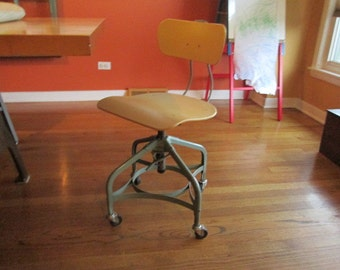 Vintage Toledo Chair on Casters