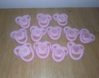 1 Dozen Baby Girl Cupcake Toppers