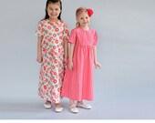 Girl's Basic Dress Pattern sizes 1,2,3,4,5,6,7,8