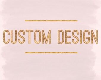 Custom Hand Painted Bistro Mug