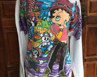 Vintage betty boop sweatshirt 90s