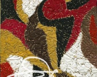 Claude's Art # 61G – Collection « Papiers Froissés »