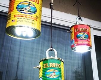 The El Pato TIN CAN LANTERN