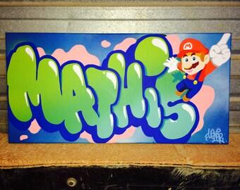canvas MATHIS MARIO BROS