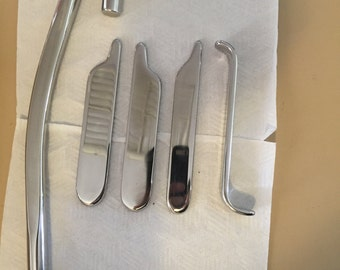 Stainless Steel Hand crafted massage tools for Chiro, Physio, Remedial & Sports massage.