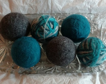 Wind and Sea Wool Dryer Balls (set of 6)