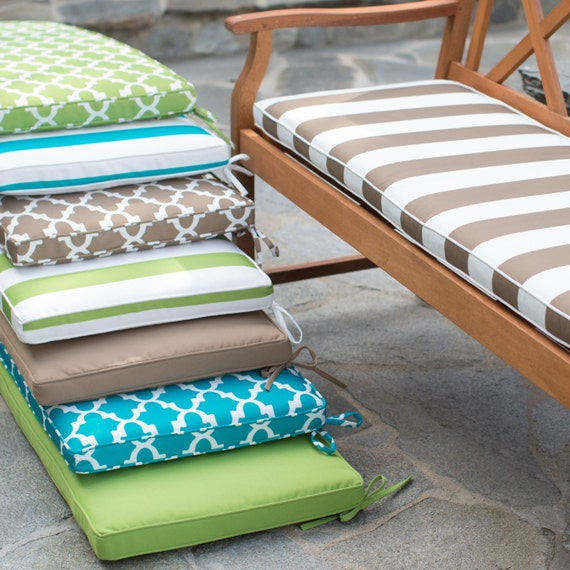 Items Similar To Replacement Custom Outdoor Bench Cushion
