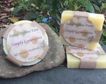 Simply Lemongrass Soap