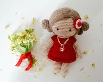 Crochet magic doll Kira, Amigurumi, Handmade,