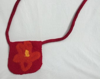 Hand Felted Wool Shoulder bag