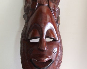 MASK AFRICAN CRAFTS