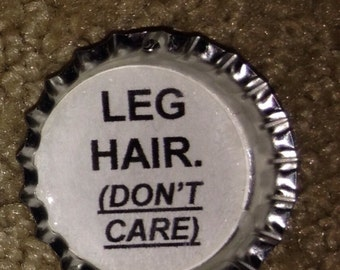 Leg hair don't  care necklace
