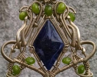 Pectoral of Sodalite