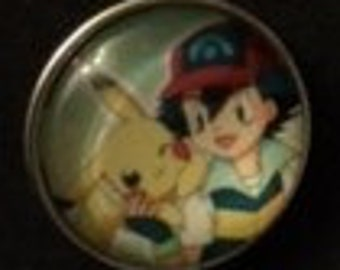New Pokemon 20mm Interchangeable Snap that will fit your 18mm and 20mm Snap Jewelry