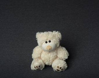Grey Newborn Photography Posing Fabric Gray - E