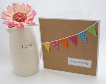 Cute bunting cards