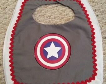 Captain America Bib