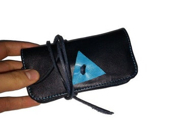 Handmade Leather triangle