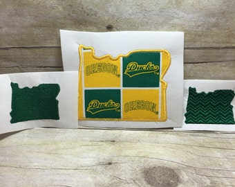 Oregon Embroidery Design Package Deal, Oregon Package Deal