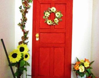 Autumn/Fall Morning Porch Miniature 1:12 Roombox/Diorama