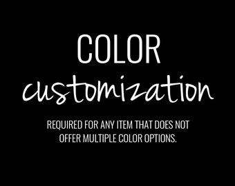 Color Customization Request, Invitation Color Change