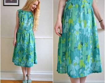 "Vintage dress ""ARIELLE"" - Boho, hippie, 60, XS-S"
