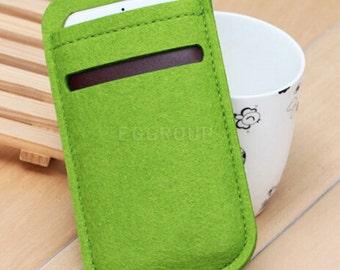 100% Wool Felt Iphone 6s sleeve/case