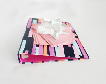 Styled Stock Photo Binder Notecards