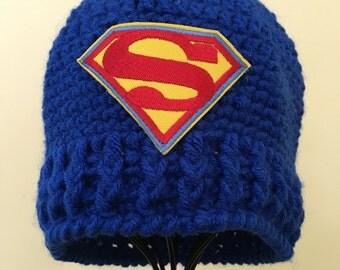 Superman Logo Beanie