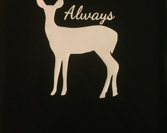 Always Harry Potter doe Patronus shirt