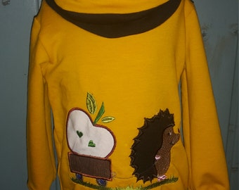 "High neck sweater ""Hedgehog"""