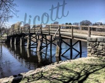 Old North Bridge, Concord, Massachusetts