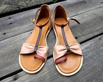 SEVEN WONDERS Summer Sandal  | Womens Leather Sandal / Womens Shoes / Leather Shoes / Sizes EU 36 - 42.